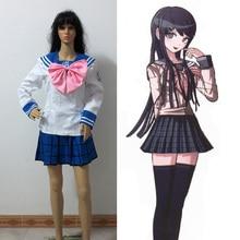 New Anime Danganronpa Dangan-Ronpa Sayaka Maizono woman Cosplay Costume