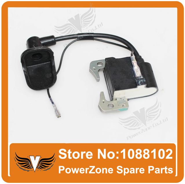 New 43cc 47cc 49cc Ignition Coil Fit 2 Stroke Air Cooled Engine Ignition Coil ATV Mini Moped Quad Pocket Dirt Bike Free Shipping