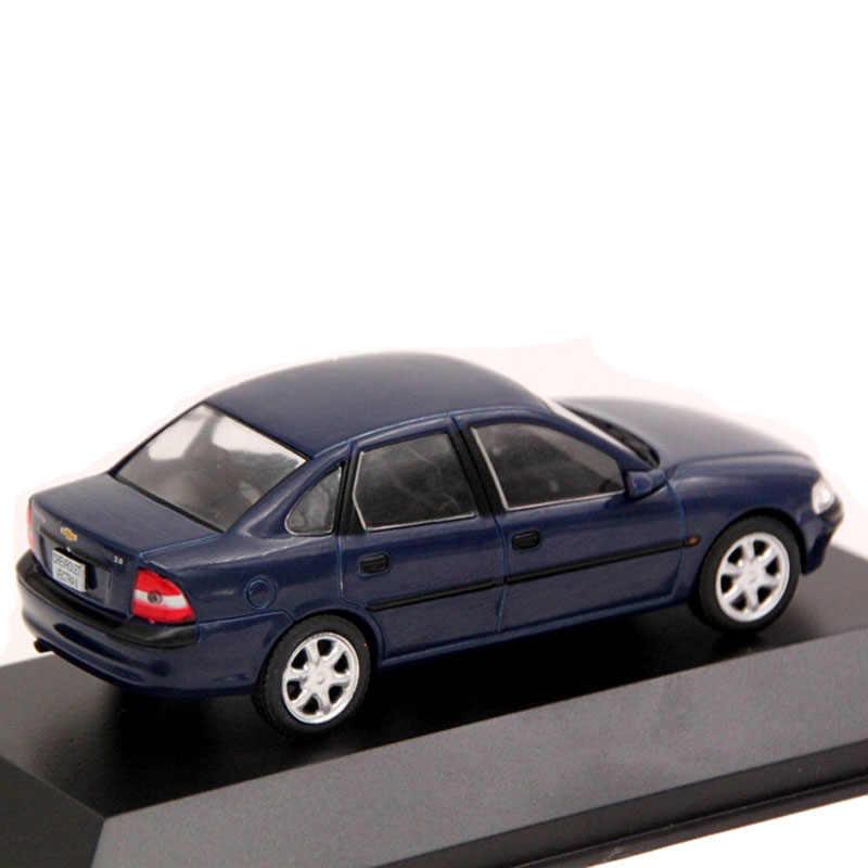 IXO Alaya 1:43 escala Chevrolet Vectra II 1997 coche Diecast juguetes modelos Edición limitada colección azul