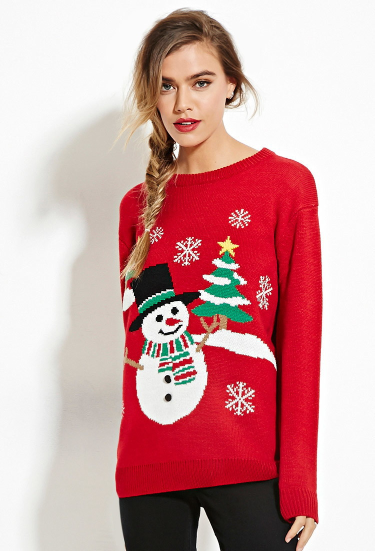 2016 Autumn Winter Christmas Sweater Party Abstract Anime Character