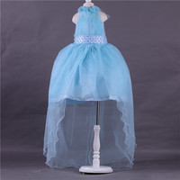 Hot Sale Flower Girls Dresses For Party And Wedding Hanging Neck Princess Kids Dress Fashion Children