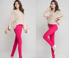 Spring and Autumn women stretch pencil pants lady  thin skinny leggings  female slim  trousers girl   long pants