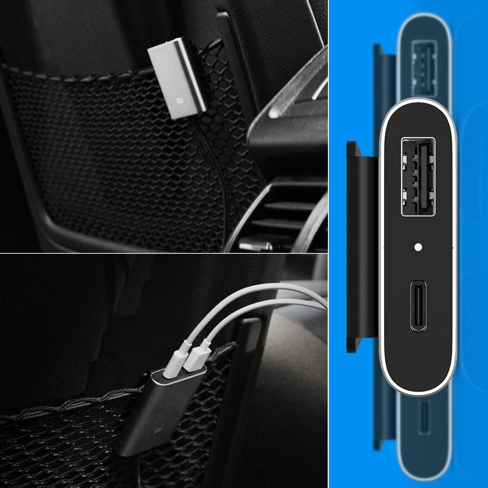 Image 5 - Original Xiaomi Car Charger QC3.0 Fast Version Extended Accessory USB A USB C Dual Port Output Smartdual portqc3.0 chargercharger xiaomi original -