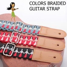 Free shipping competitive product little guitar straps, ukulele color pure cotton straps