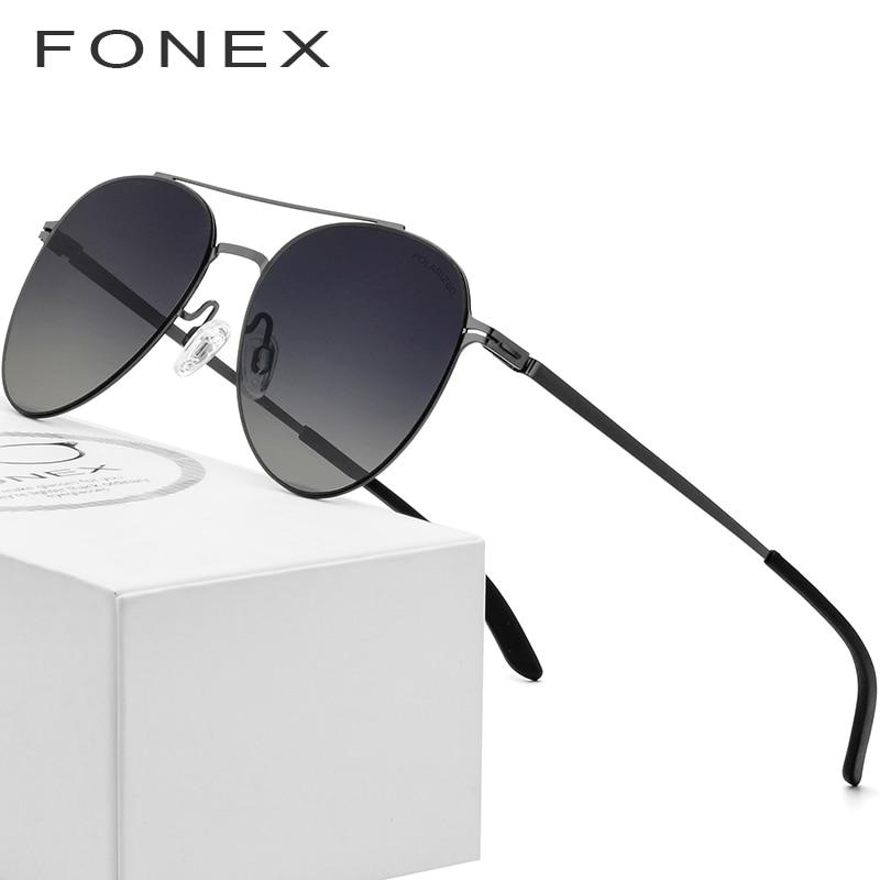 ניילון מקוטב משקפי שמש גברים 2018 קל במיוחד תעופה ללא בורג Eyewear דק מתכת שטוח טייס מראה משקפיים שמש לנשים