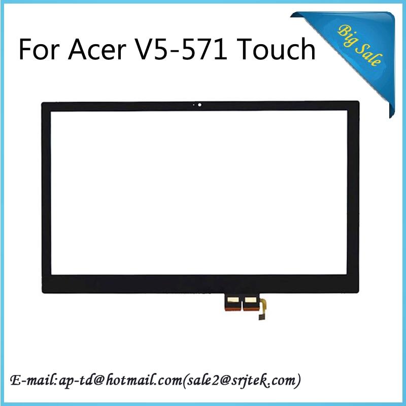 ФОТО Original 15.6'' For Acer V5-571 V5-571P Touch Screen Digitizer Glass Sensor Tablet pc Touchscreen Panel+Traking Number