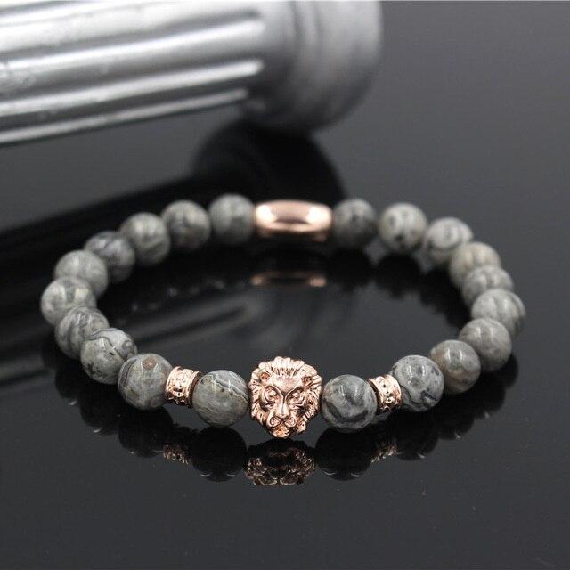 Lion Design Charm Bracelet