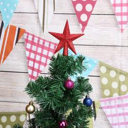 Christmas Tree Top Stars Pine Garland Sparkle Ornament Christmas Decoration for home Christmas Tree Ornament Topper Party Decor 6