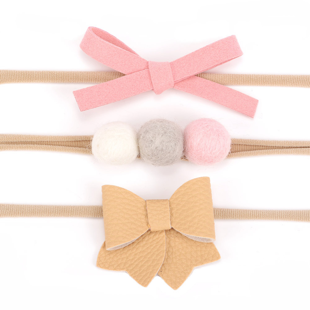 Suede Bow Girls Hair Bow Suede Hair bow Suede Faux Leather Bow Baby Hair Bow