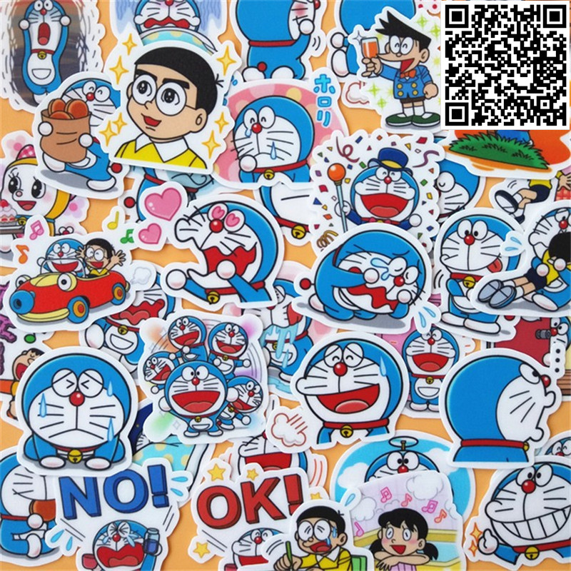 39 pcs Doraemon Sticker for Luggage Skateboard Phone Laptop Moto Bicycle Wall Guitar/Eason Stickers/DIY Scrapbooking39 pcs Doraemon Sticker for Luggage Skateboard Phone Laptop Moto Bicycle Wall Guitar/Eason Stickers/DIY Scrapbooking