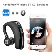 цена на Wireless Bluetooth Earphones Audifonos Business Earbuds Noise Cancelling Headset Hands Free with Mic for Driver Car Earphone