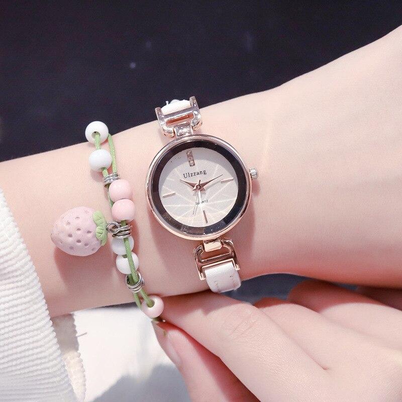 Luxury Fashion Women Bracelet Watches Small Elegant White Ladies Wristwatches 2019 Ulzzang Brand Woman Quartz Dress Clock Gifts