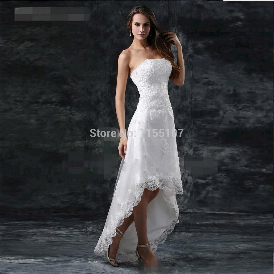 Aliexpress.com : Buy 2015 New A Line Wedding Dresses Sexy ...