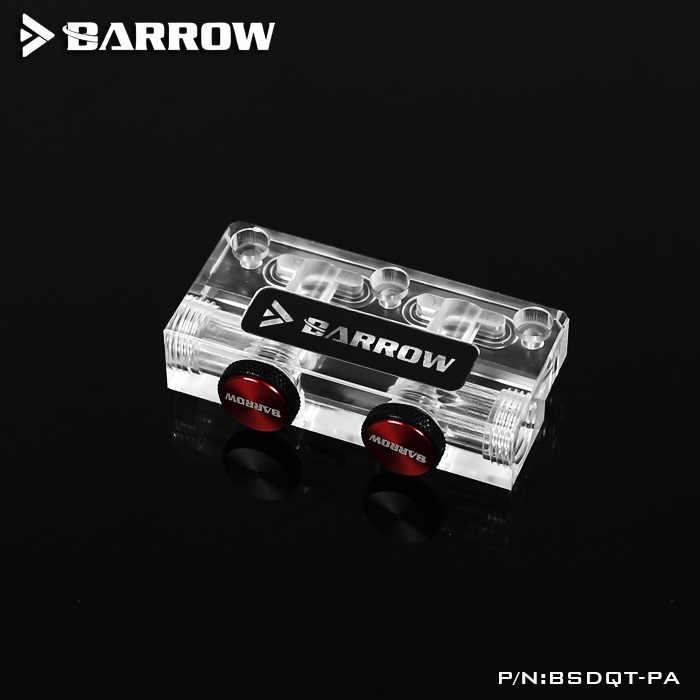 Barrow bloque de agua GPU multifuncional cambio de dirección L tipo tarjeta gráfica puente accesorio de reinstalación, BSDQT-PA