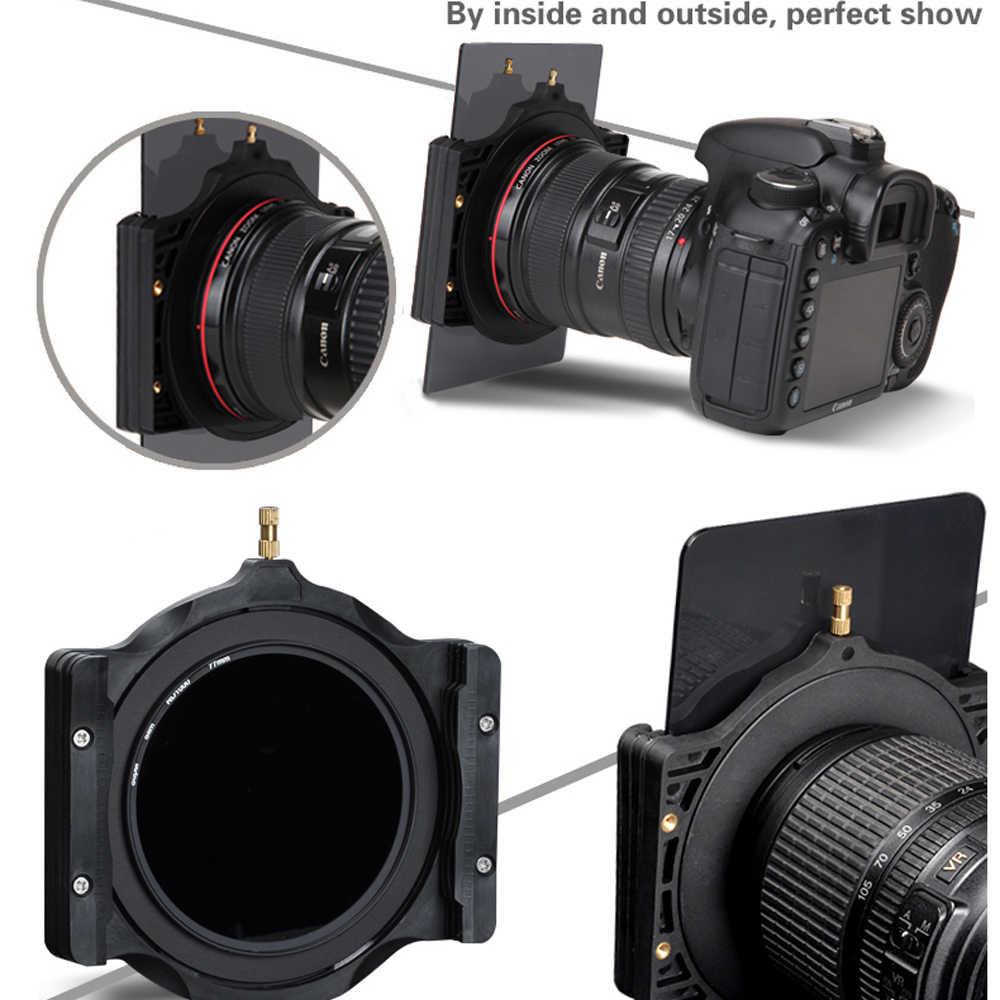 เดิน WAY 150*100 มม.ชุดกรองชุด ND Neutral Density ND2 ND4 ND8 ND16 กล้องกรองและแหวนอะแดปเตอร์สำหรับ COKIN Z
