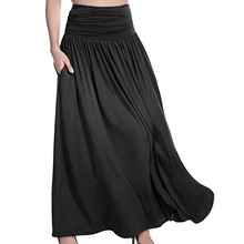 5deb5af7c Compra slit maxi skirt y disfruta del envío gratuito en AliExpress.com