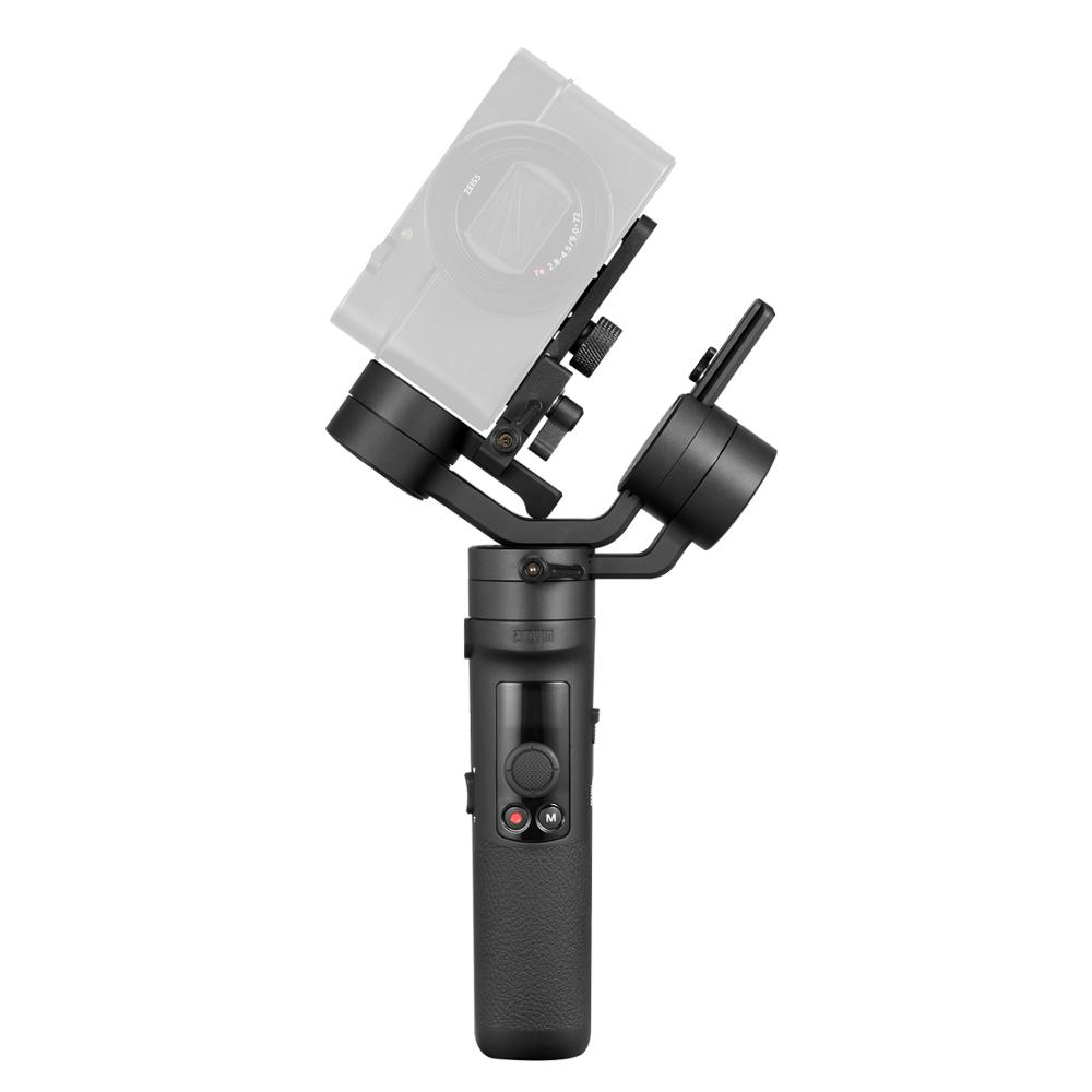 Zhiyun Crane M2 Gru M2 3 Axis Handheld Gimbal Stabilizzatore Portatile All in One per Fotocamere Mirrorless Smartphone Telecamere di Azione - 5