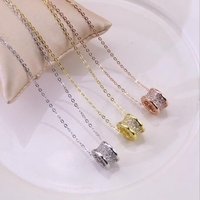 New Small Waist Pendant With Rhinestone Necklace With Women's Chain Accessories Chain To Send Lovers Women Elegant Jewelry Gift