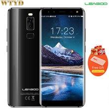 """LEAGOO S8 5.72 """"Exhibición del 18:9 Android 7.0 Octa Core Smartphone 3 GB RAM 32 GB 13MP MTK6750T 4 Cámaras huella digital 4G Teléfono"""