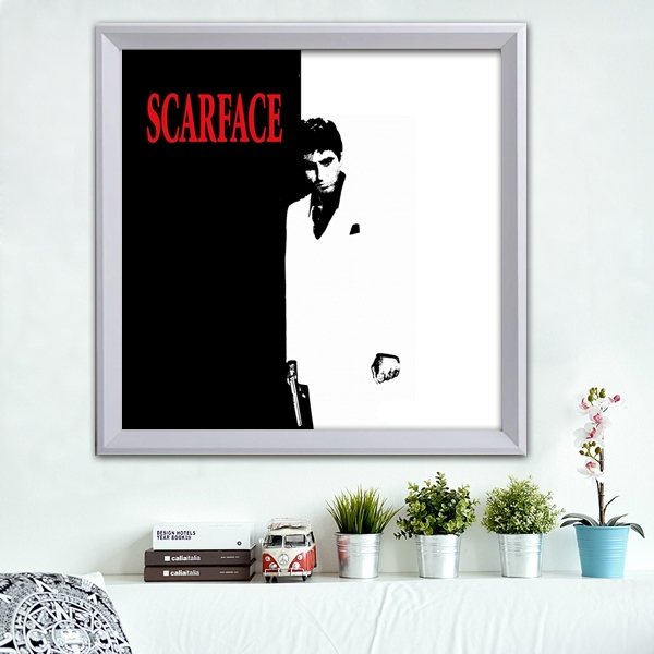 Canvas prints cool picture scarface beautiful wall decor art ...