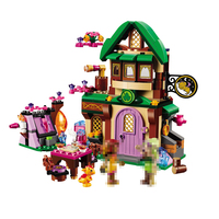 10502 Friends 348pcs Elves The Starlight Inn Kits Minis Compatible With Legoed 41174 Building Blocks Bricks