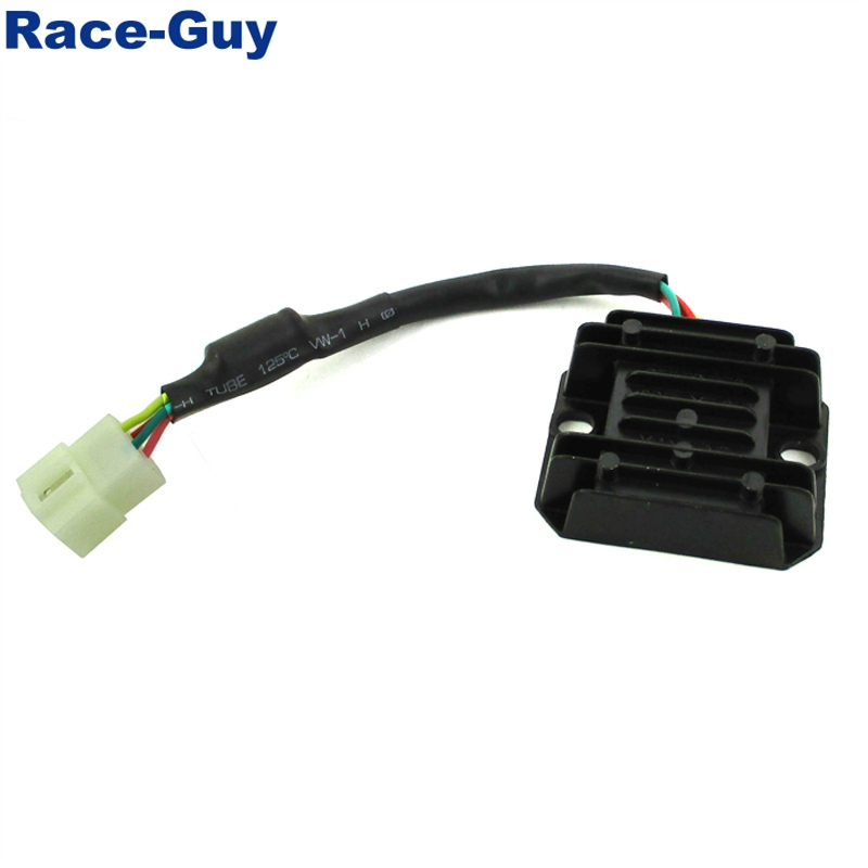 4 Pin Wires Voltage Regulator Rectifier For Chinese Pit Dirt Bike. Wiring. Rectifier 5 Diagram Pin Wiring Regulator Wy125c At Scoala.co