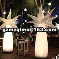 Украшение для вечеринки  светодиодная лампа  Надувное дерево  светодиодное освещение  Надувное бамбуковое освещение  декоративные надувны...