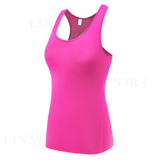 Fitness Gym Tank Top Elastic Sleeveless Vest 50% OFF