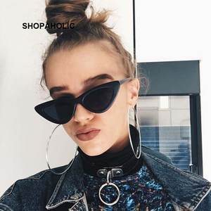 SHOPAHOLIC Cat Eye Sunglasses Sun Glasses for Women Vintage