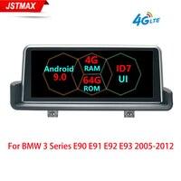 IPS 10.25 8 Core Android 9.0 Car Screen Player For BMW E90 E91 E92 E93 2005 2012 GPS Navi Stereo BT WIFI 4G LTE Multimedia