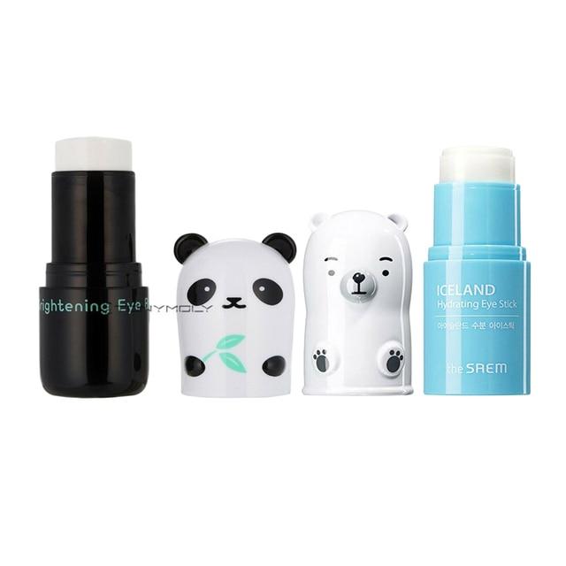 DIE SAEM Island Micro Feuchtigkeitsspendende Auge Stick 7g Panda Traum Aufhellung Auge Basis 9g Augen Pflege Feuchtigkeits creme Gesichts Concealer