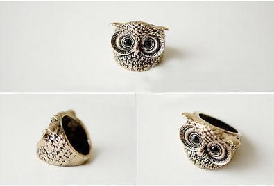 Clever restoring ancient ways the owl ring ring wholesale in Europe and the female ring