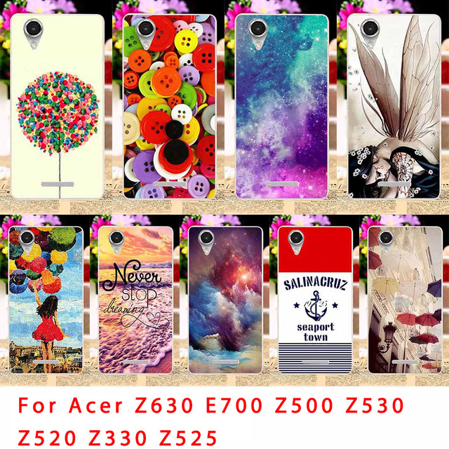 best sneakers 65036 4b93f US $1.68 15% OFF|TAOYUNXI TPU Phone Case For Acer Liquid Z630 Z 630 Z630S  E700 Z500 Z520 Z530 Z530S Z330 Girl Back Coverss Sheaths Skins-in Fitted ...