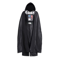 Star Wars Costume Jedi Knight Black Robe Men Darth Vader Cosplay Costume