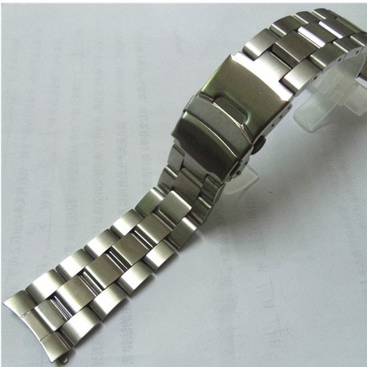 22mm Stainless Steel Watchband  Wrist Belt Bracelet Silver For Casio EF-527 Watch Accessories
