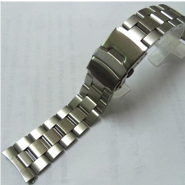 22mm Stainless Steel Watchband  Wrist Belt Bracelet Silver For Casio EF-527 Watch Accessories