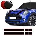 Автомобильный капот крышка багажника двигателя Задняя линия виниловая наклейка капот полосатые наклейки для Mini Cooper F55 F56 R56 R57 аксессуары дл...