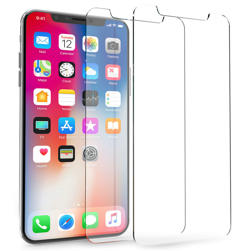 9H Ultra thin Premium Tempered Glass Screen Protector for iPhone X 8 7 pus 6s plus