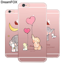 L572 Cute Elephant Soft TPU Silicone Case Cover For Apple iPhone 11 Pro XR XS Max 8 X 7 6 6S Plus 5 5S SE 5C 4 4S cute penguin style protective soft silicone case for iphone 4 4s blue