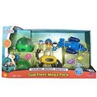 original Octonauts GUP Fleet Mega Pack 1 set of 3 vehicles Kwazii vehicle figures toy, bath toy child Toys