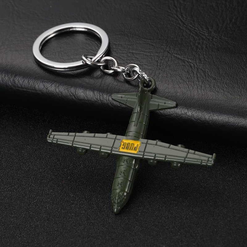 2019PUBG المفاتيح لعبة أكل الدجاج جديد سلاح نموذج قلادة المفاتيح أكل الدجاج لعبة الطرفية 12 سنتيمتر الإنترنت مقهى هدية مفتاح رين