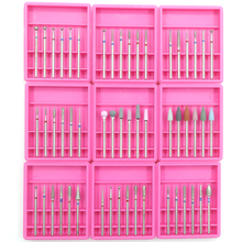 6PCS Diamond Cutters for Manicure Set Ceramic Nail Drill Bits Set Cutters for Nail Drill Machine Cutters for Pedicure Nail Tools