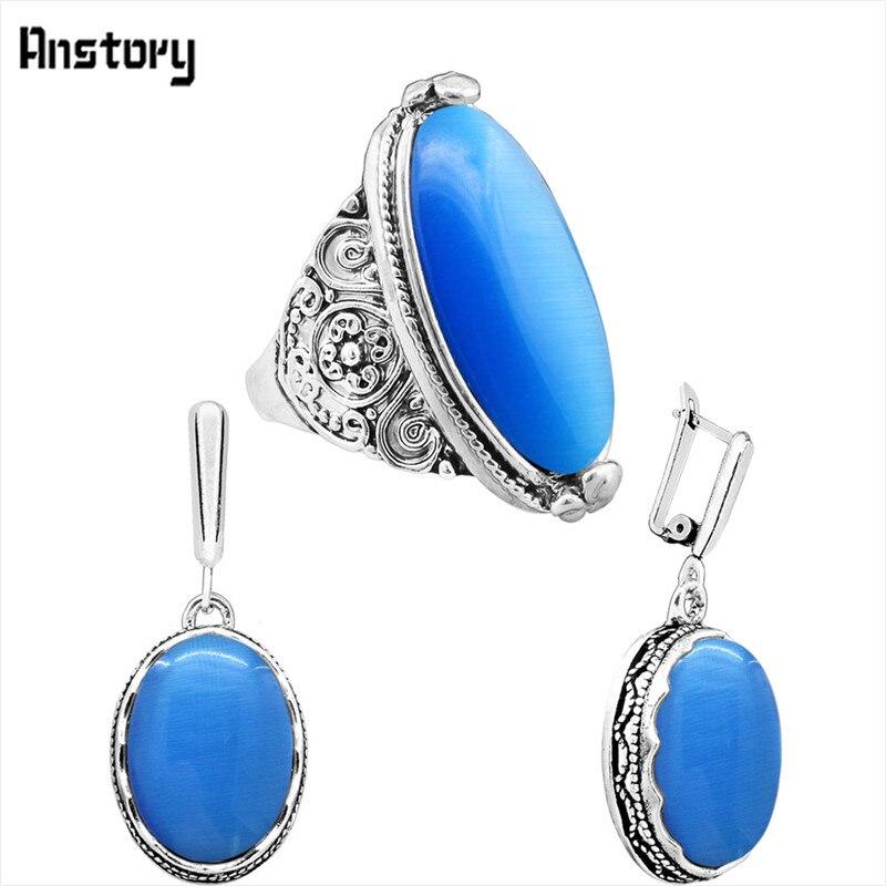 earring ring-Blue