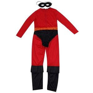 Image 3 - を超人最速ダッシュクラシック子供キッドボーイスーパーヒーローハロウィンコスプレ衣装