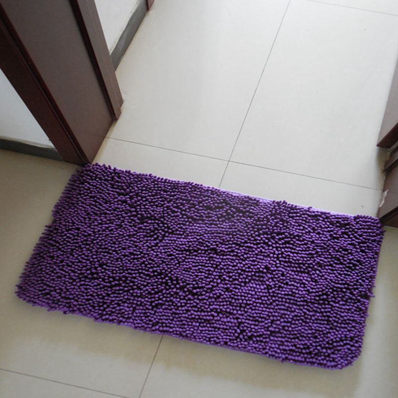 EHOMEBUY New Carpet Stair Tread Mats For Living Room Sold By 1 Piece Chenille European Self Adhesive Carpet Deep Purple
