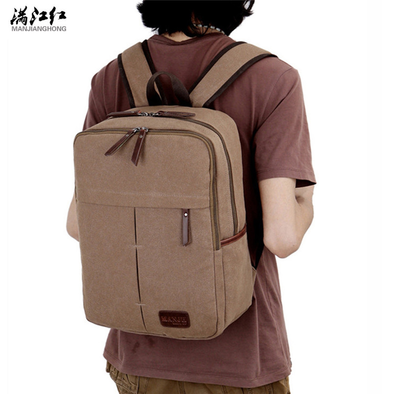 Manjianghong Canvas Backpack Men Business Laptop Bag Women School Casual Travel Daypack Rucksack Knapsack 1353 ada instruments ada phantom 2d set