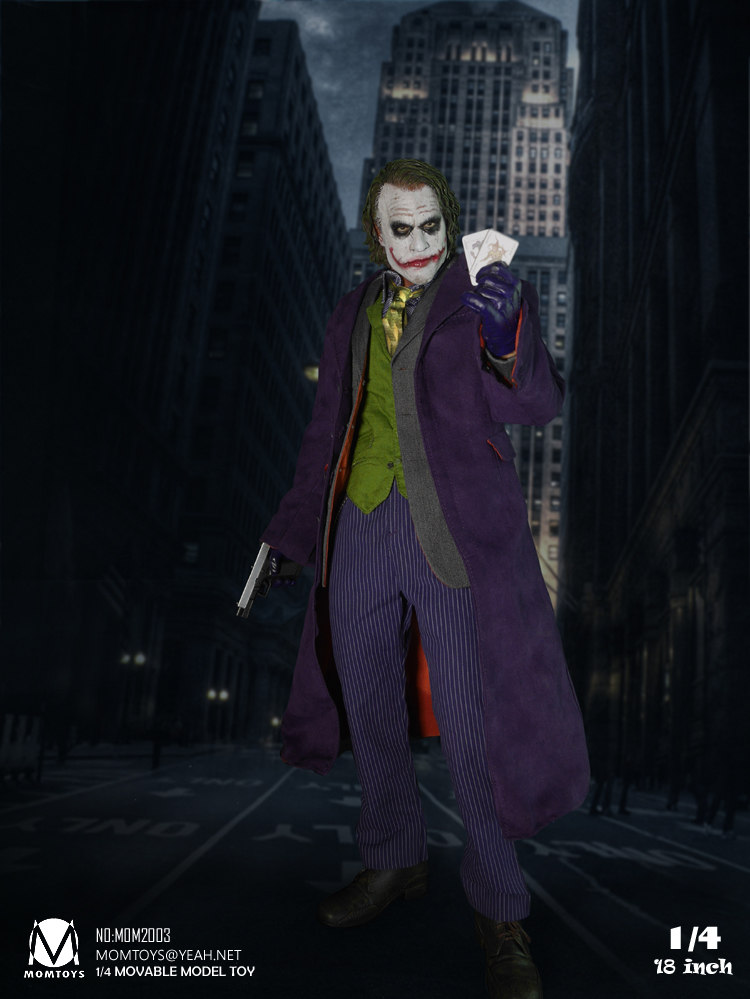 The Dark Knight The Joker 1//4 Scale Action Figure Gift Collectible No Box