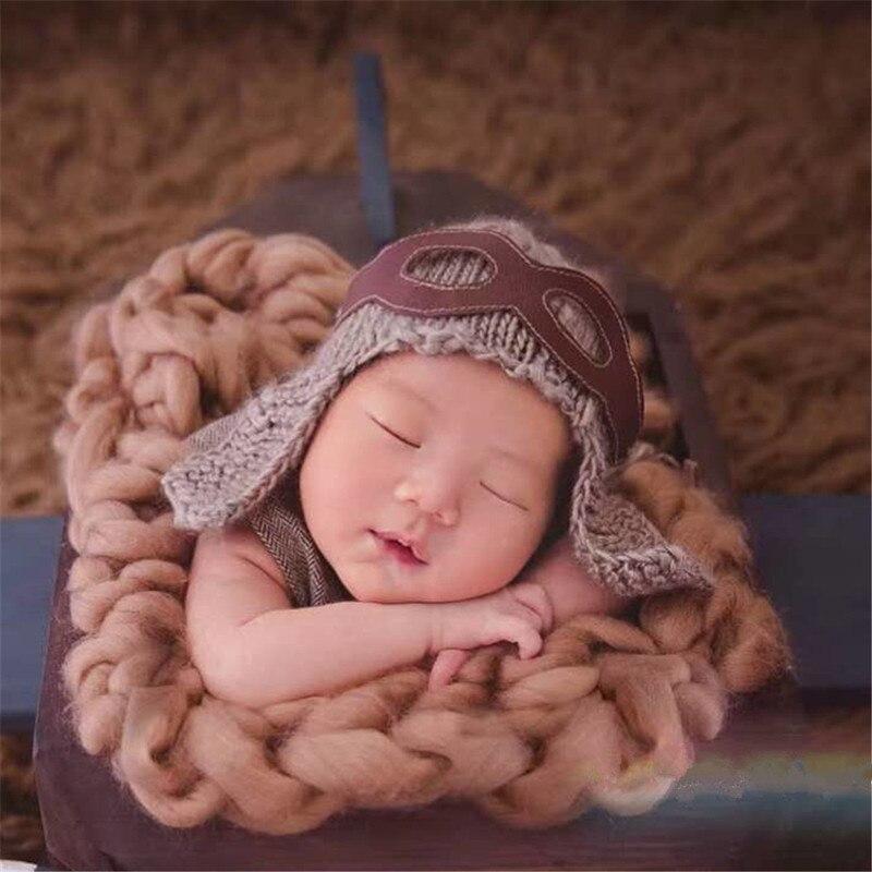 Lucky Will Baby Kids Winter Soft Warmer Hat Cool Pilot Aviator Fleece Hat Cap with Earmuffs