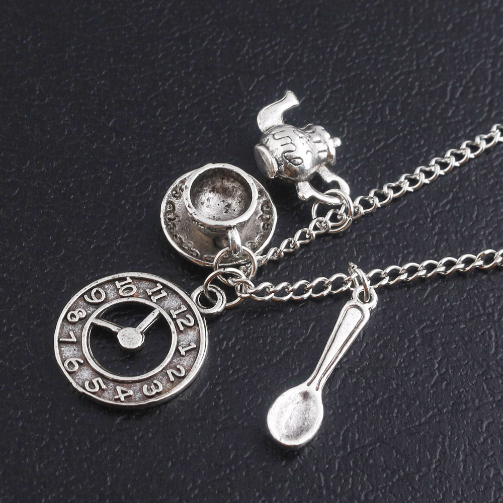 Alice in Wonderland Cosplay Necklace Girl Friend Gift Fans Collection Halloween Gift Drop Ship