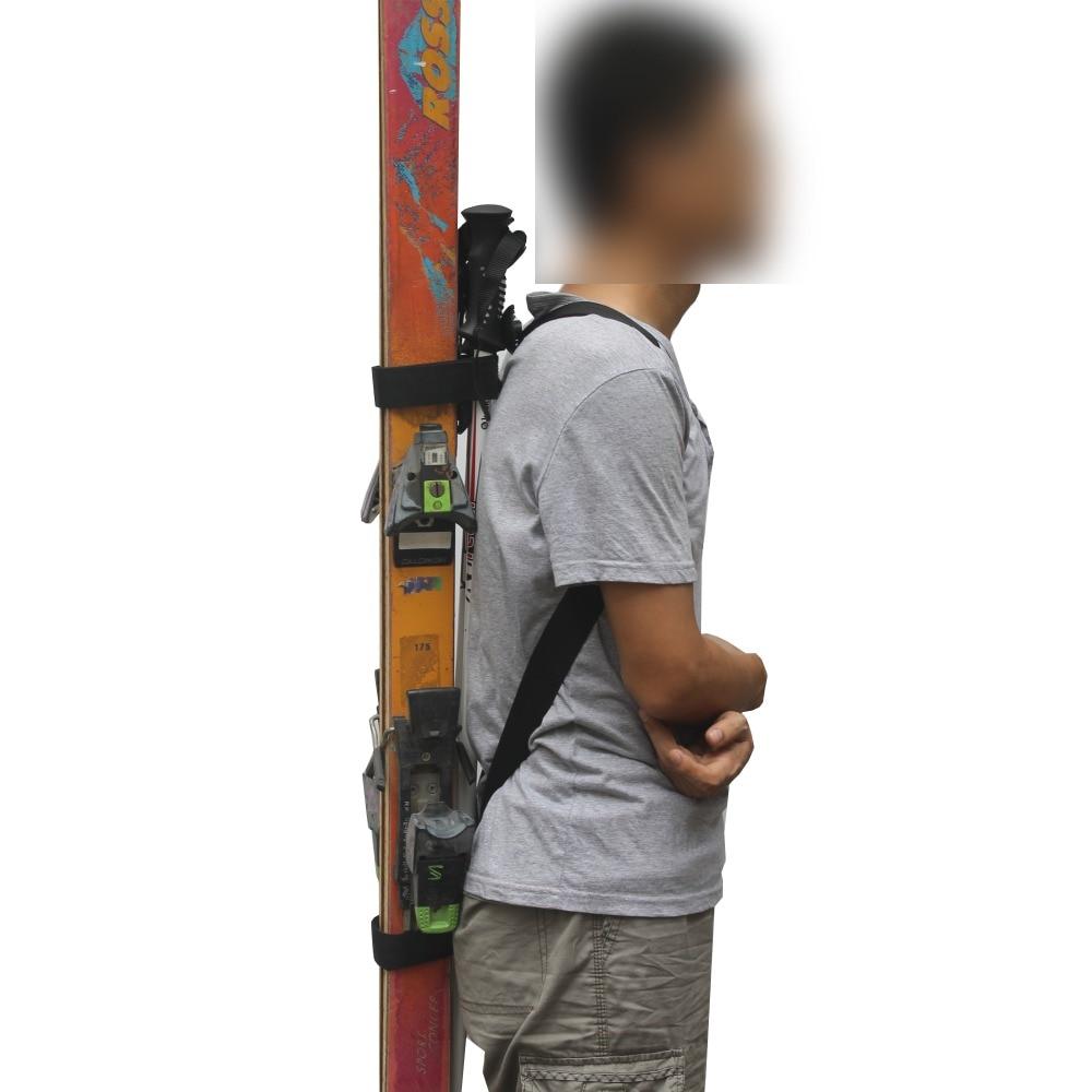 Handi Ski Tote Ski Backpack Carrier Ski Carry Sling Strap Shoulder Strap Hold Poles NO SKIS